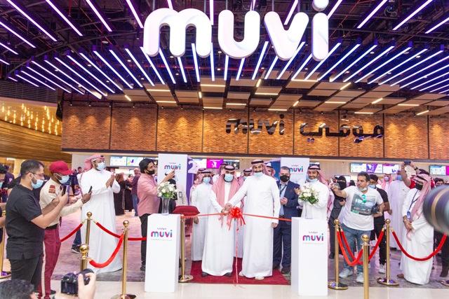 موڤي سينما تفتتح أكبر وأحدث مجمع لدور السينما في السعودية