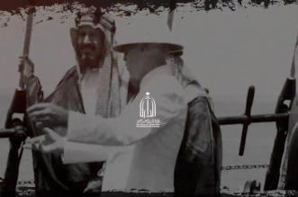 شاهد.. الزيارة الأولى لـ الملك عبدالعزيز إلى الظهران وشركة أرامكو - المواطن