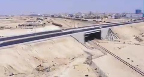 فيديو.. النقل تفتتح جسر مدخل الهفوف الغربي بالأحساء