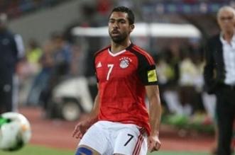 أحمد فتحي مع المنتخب المصري