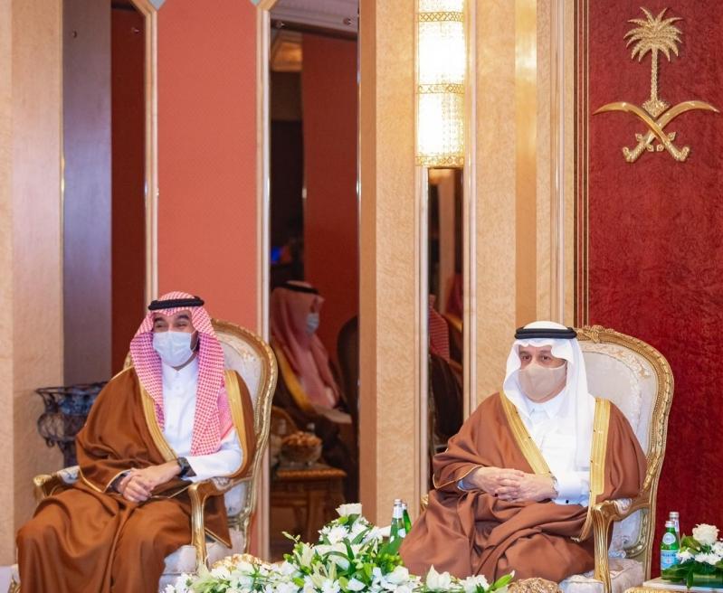الأمير فيصل بن بندر مع وزير الرياضة