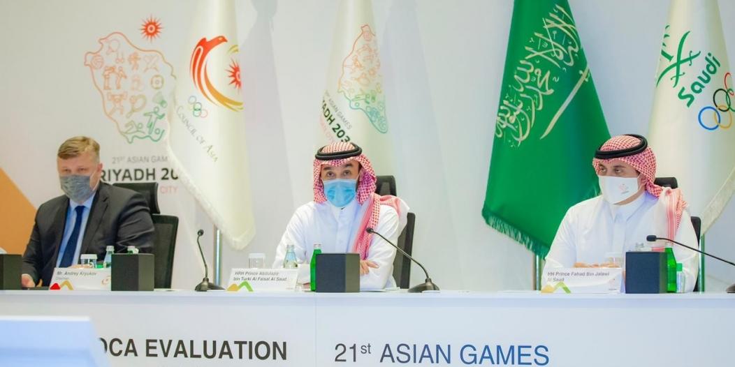 ابن جلوي: استضافة الألعاب الآسيوية 2030 فخر وطني