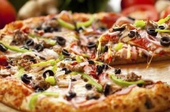 البيتزا زيادة الوزن