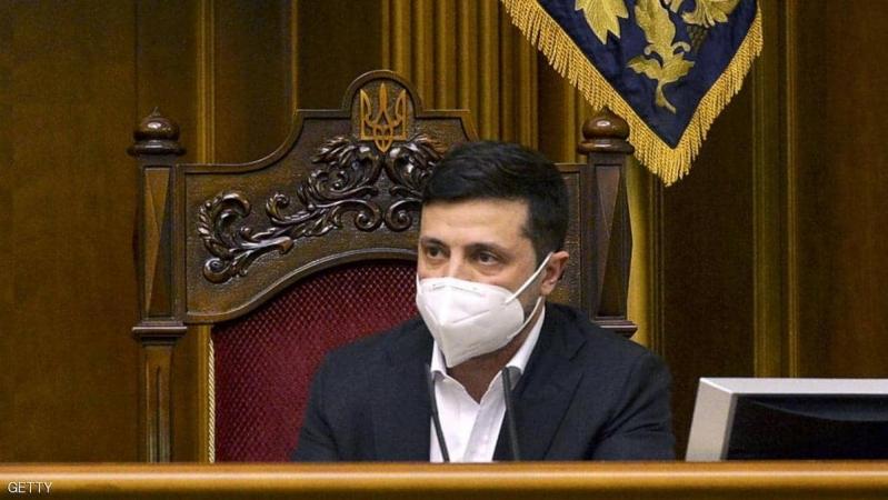 إصابة الرئيس الأوكراني بـ كورونا