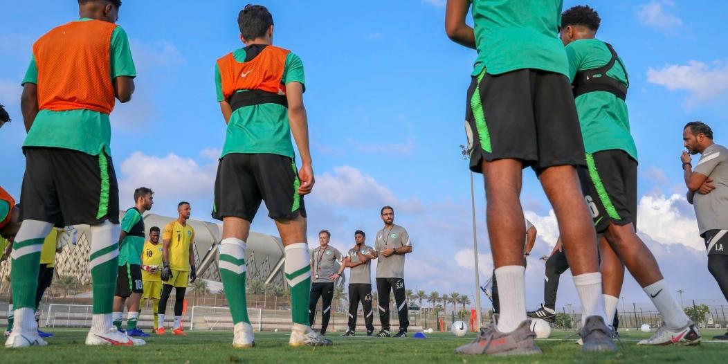 المنتخب السعودي الأولمبي يدشن معسكر جدة
