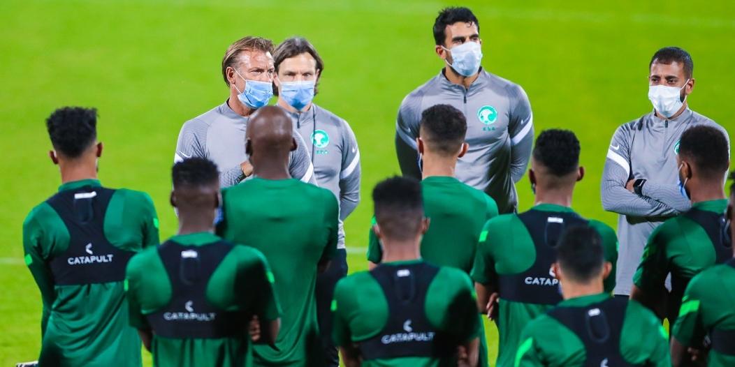 المنتخب السعودي يبدأ الاستعداد لوديتي جامايكا