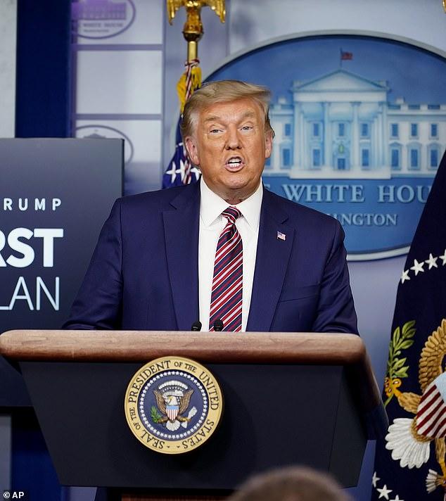 ترامب يريد إنهاء حق منح الجنسية لأطفال المهاجرين قبل ترك منصبه