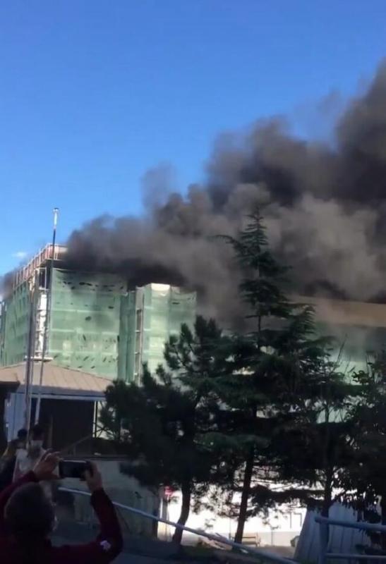 حريق اسطنبول
