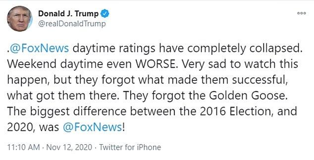 دونالد ترامب كنت الإوزة الذهبية لقناة فوكس نيوز وحان وقت تدميرها 1