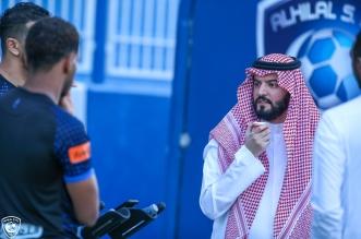رئيس الهلال فهد بن نافل