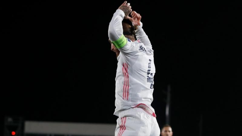 راموس في مباراة ريال مدريد