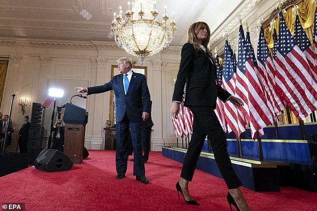 زواج دونالد ترامب مهدد بعد خسارته في الانتخابات