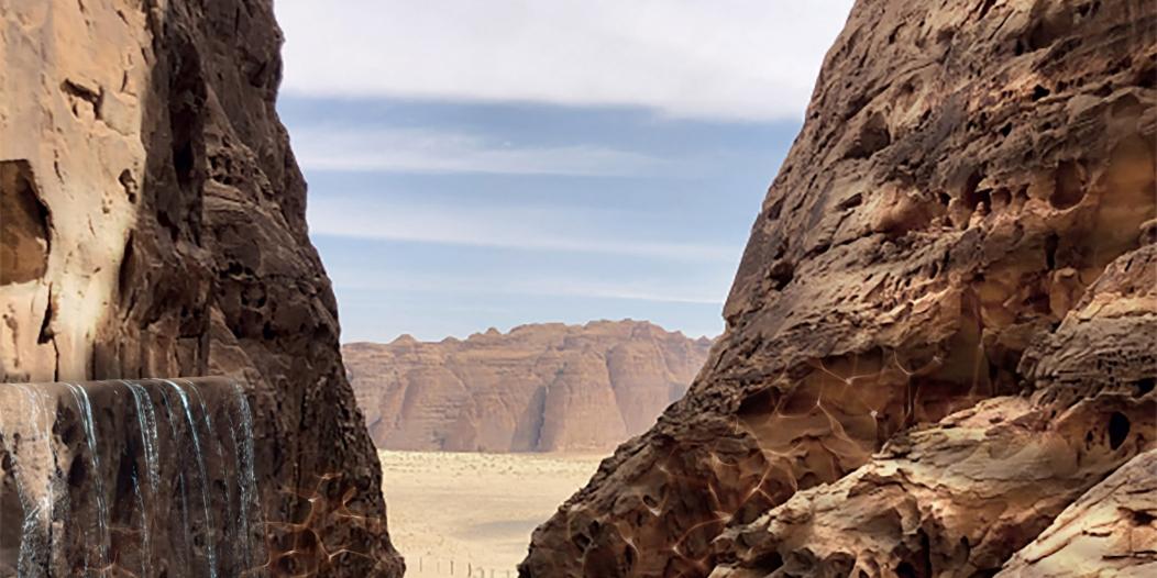 صور مدهشة.. تصميم منتجع عشار في صحراء العلا