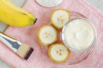فوائد الموز للبشرة المختلطة