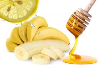 فوائد ماسك الموز والليمون