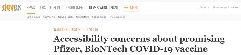 مشكلة تواجه شركتي BioNTech وPfizer بشأن لقاح كورونا - المواطن