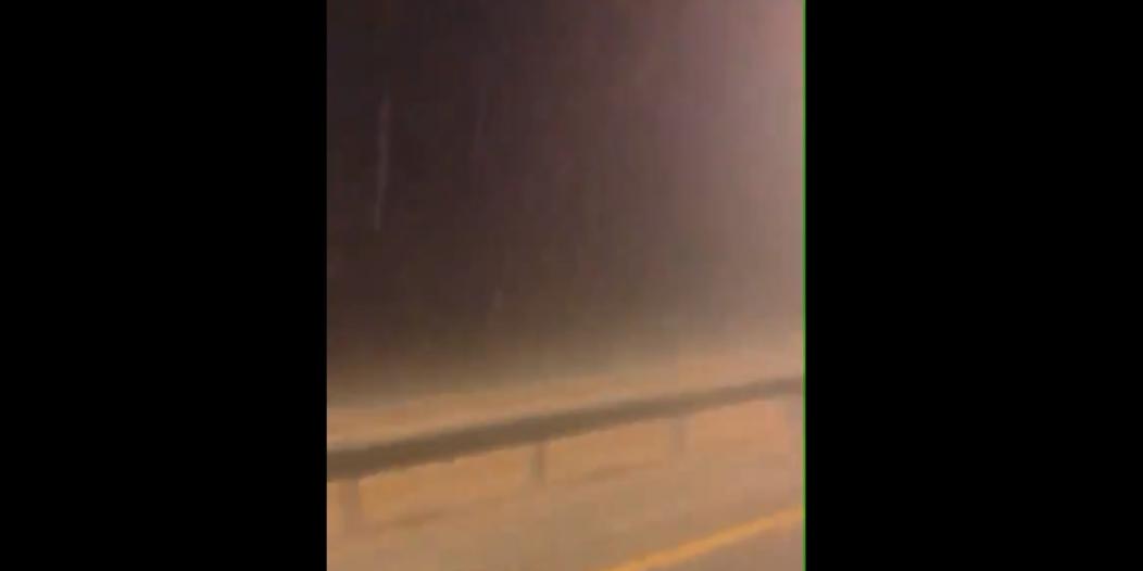 فيديو.. أمطار غزيرة جدًّا على القريات