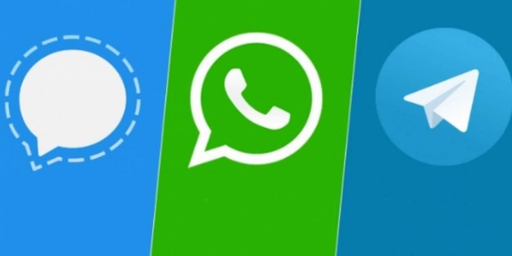 مقارنة تحديث WhatsApp الجديد مع تيليجرام وسيجنال وسناب شات