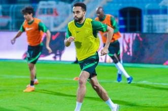 نجم المنتخب السعودي محمد البريك