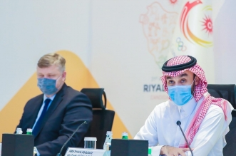 وزير الرياضة الامير عبدالعزيز بن تركي الفيصل 1