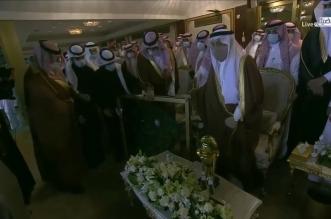 وزير الرياضة مع أمير الرياض