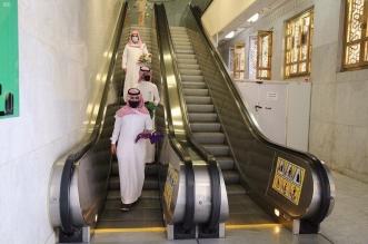 200 سلم كهربائي لتسهيل الحركة في المسجد الحرام - المواطن