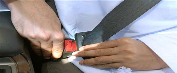 الصحة: حزام الأمان يخفّض إصابات الحوادث بنسبة 50%