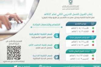 تقنية محايل تعلن موعد القبول في برنامج الدبلوم الصباحي - المواطن