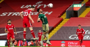 لماذا ستُقام مباراة ليفربول وميتييلاند في ألمانيا بدلًا من الدنمارك ؟