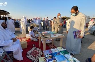 أحمد الفهيد ينافس المكتبات في حفر الباطن والكتاب بـ5 ريالات - المواطن
