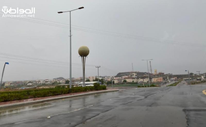 شاهد.. أمطار الفجر تنعش أجواء البرك - المواطن