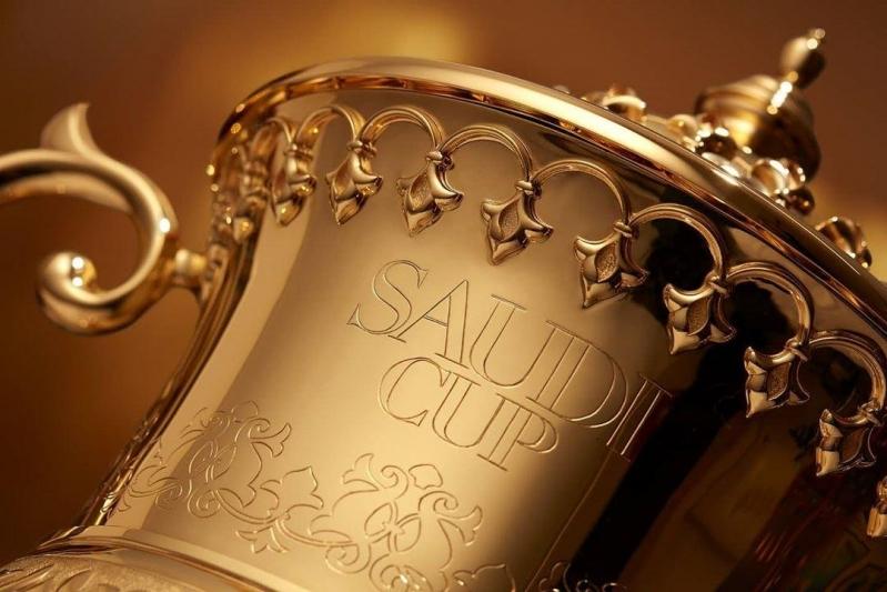 طابع تذكاري لـ كأس السعودية 2021 بـ سباق الخيل