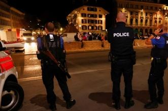الشرطة السويسرية تنتشر في مدينة بيال إثر إطلاق أعيرة نارية - المواطن