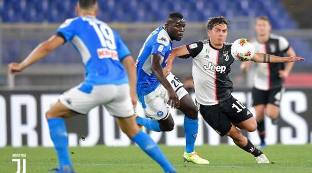 موعد مباراة كأس السوبر الإيطالي بين يوفنتوس ونابولي