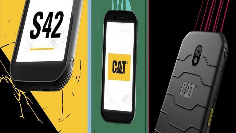 Cat S42 أول هاتف ذكي يقلل انتشار الميكروبات بنسبة 99.9%