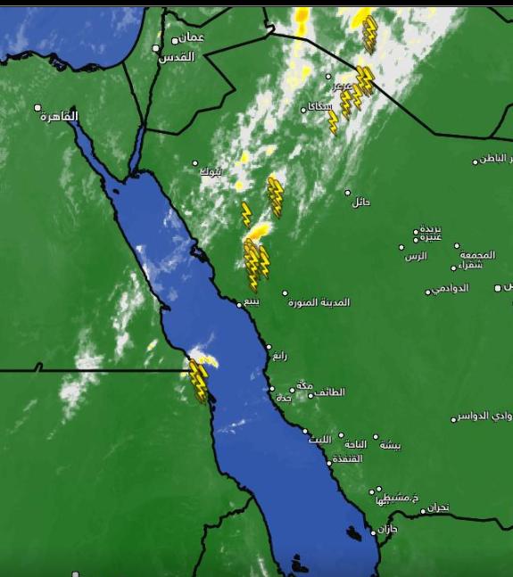 الحصيني يتوقع اتساع الحالة المطرية خلال الساعات المقبلة