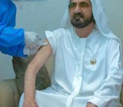 محمد بن راشد يتلقى لقاح فيروس كورونا - المواطن