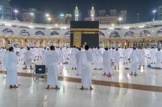 شاهد.. المعتمرون يتوافدون إلى المسجد الحرام مع بدء المرحلة الثالثة - المواطن