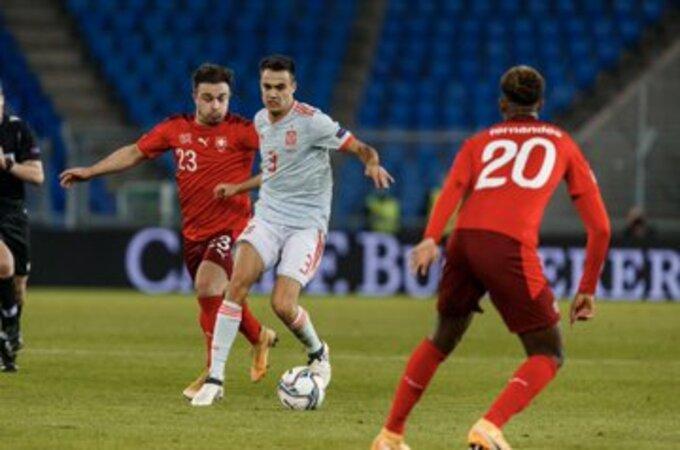 مباراة إسبانيا وسويسرا