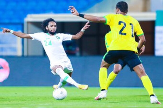 المنتخب السعودي يحسم ودية جامايكا الأولى بثلاثية
