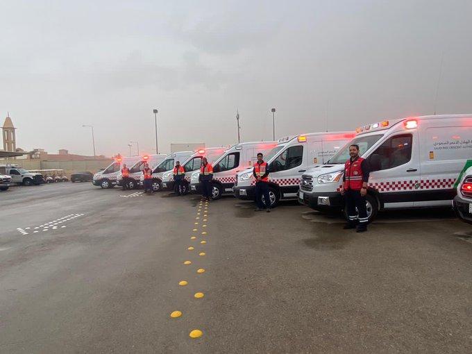 6 فرق إسعافية تشارك في تغطية نهائي الهلال والنصر