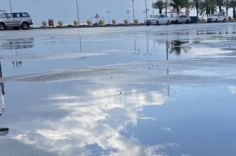 شاهد.. أمطار الخير على القنفذة - المواطن