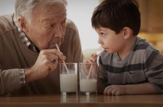 تناول الحليب