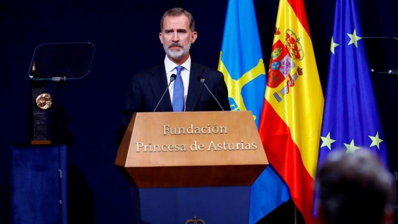 ملك إسبانيا في الحجر الصحي بعد مخالطة مصاب