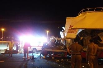 5 إصابات في تصادم مروع في الرياض - المواطن