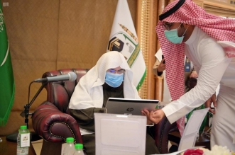 السديس يدشّن خدمات تقنية بمكتبة المسجد النبوي - المواطن
