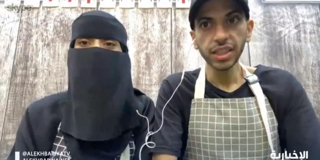فيديو. قصة زوج دعم زوجته لافتتاح مطعمهما الصغير
