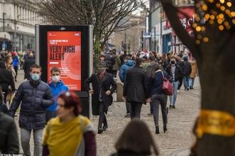 بريطانيا تسجل ارتفاعًا حادًّا للإصابات بكورونا بسبب السلالة الجديدة - المواطن