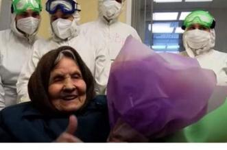 عمرها 101 سنة وهزمت كورونا في 8 أيام - المواطن