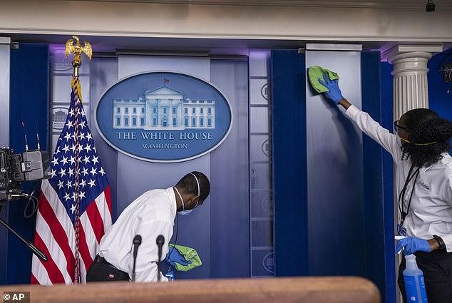 تكلفة خيالية لتنظيف البيت الأبيض استعدادًا لاستقبال جو بايدن (1)